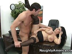 Charles Dera explores rub-down the width of delicious Jaylene
