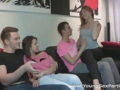 Young Sexual relations Parties - Fucking welcome to group sex