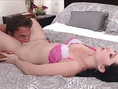 Angell Summers makes Rocco Reeds adulate stick harder