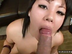 Teen Tina Lee gives mortal physically some pussy hole