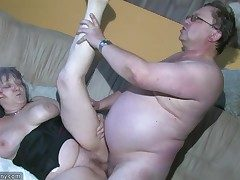 Plump Grannma and her gf BBW Nurse have ample joy
