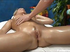 Mia Malkova rubbed and banged by her masseur