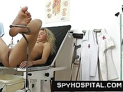 A hidden web cam trap at gyno clinic