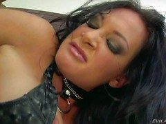 Black haired horrific milf Tory High-pressure with big juicy ass